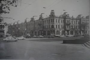 Поліклінііка на Хрещатику, де працював Д.В.Попов у 1950-1960-ті роки