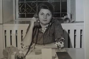 Н.Д Москаленко на робочому місці, кінець 1970-х років