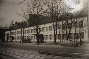 Поліклінка лікарні імені Жовтневої революції. Місце роботи Д.В. Попова 1969-1986